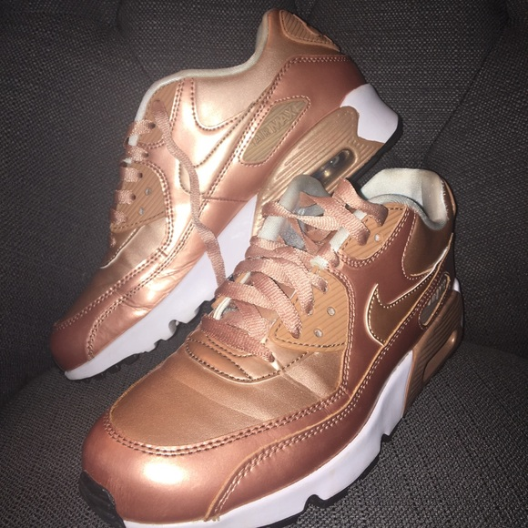 Nike Air Max rose gold size 8.5